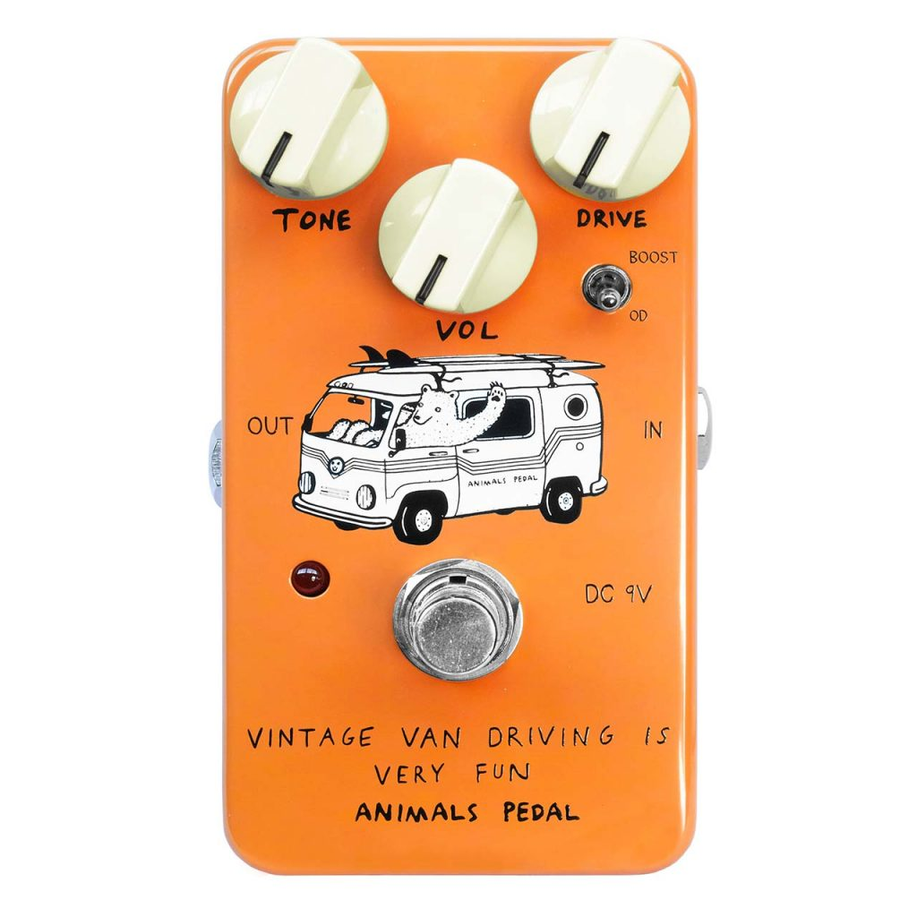 Animals Pedal Launches Vintage Van Driving is Very Fun Overdrive