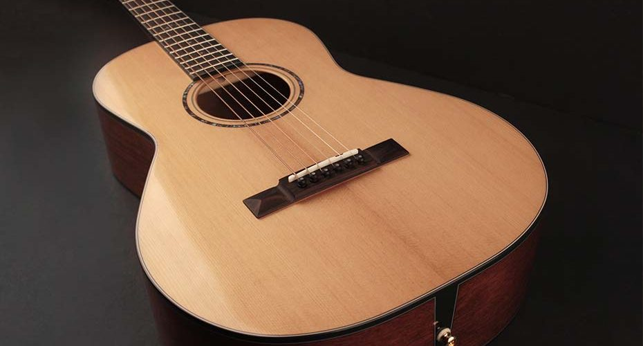 Cort Gold-P6 Parlor Acoustic Guitar