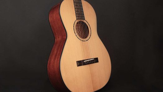 Cort's Gold-P6 Parlor Acoustic Guitar Returns to Instrument's Roots