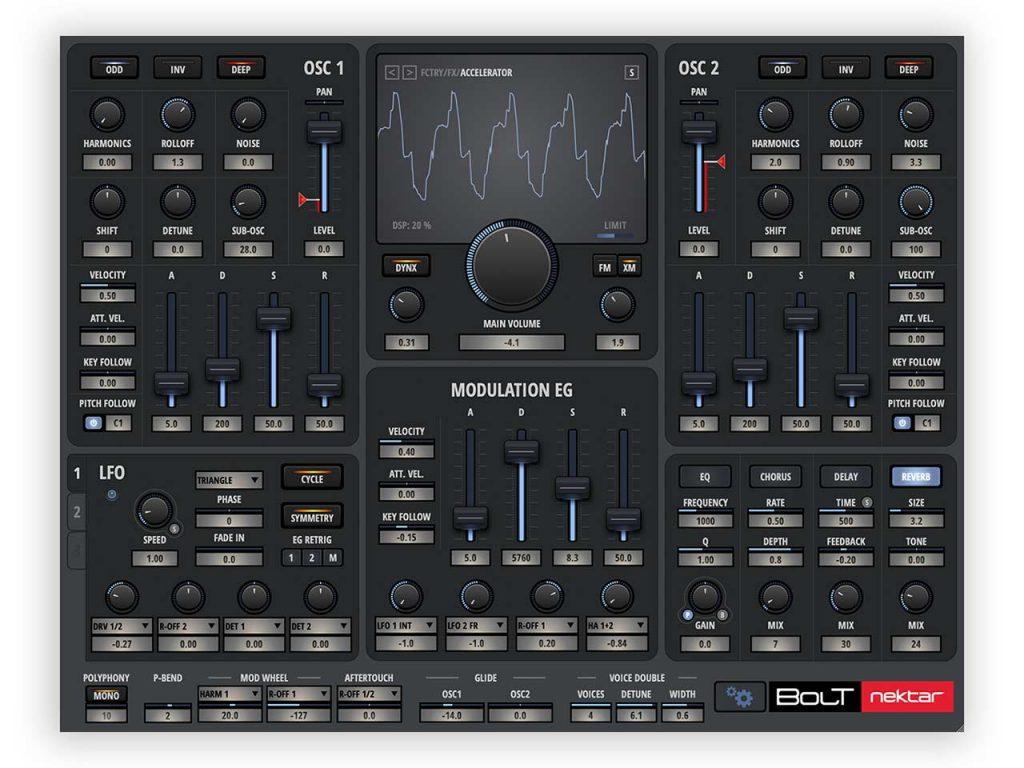 Nektar BOLT VSTi Synthesizer