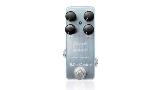 One Control Blue 360 Amp-in-a-Box Bass Preamp