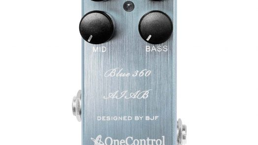 One Control Launches Blue 360 Amp-in-a-Box Bass Preamp Pedal
