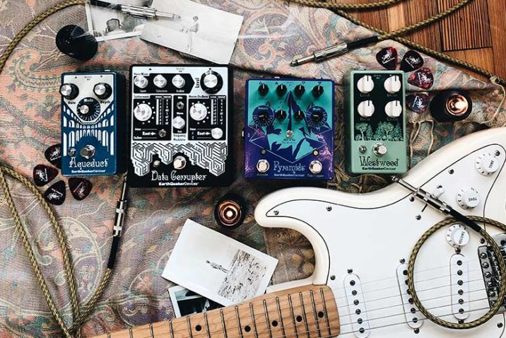 Yamaha Music Australia Exclusive Distribution Of EarthQuaker Devices