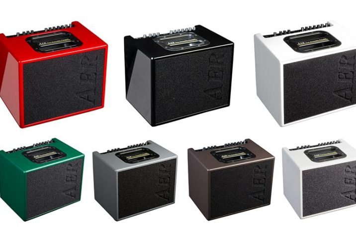 AER Introduces Colorful Versions of Compact 60 Amp
