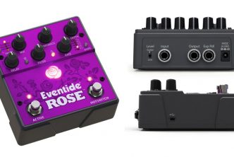 Eventide Rose Delay stomp box effects pedal
