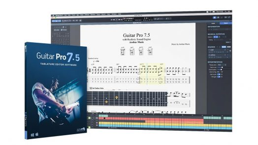New Guitar Pro 7.5 features presented at NAMM 2019