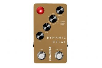 Lunastone Dynamic Delay First Digital Pedal
