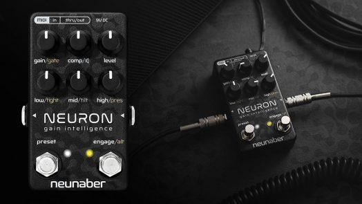 Neunaber Audio Announces New Neuron Pedal