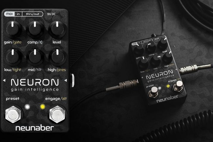 Neunaber Audio Announces New Neuron Pedal