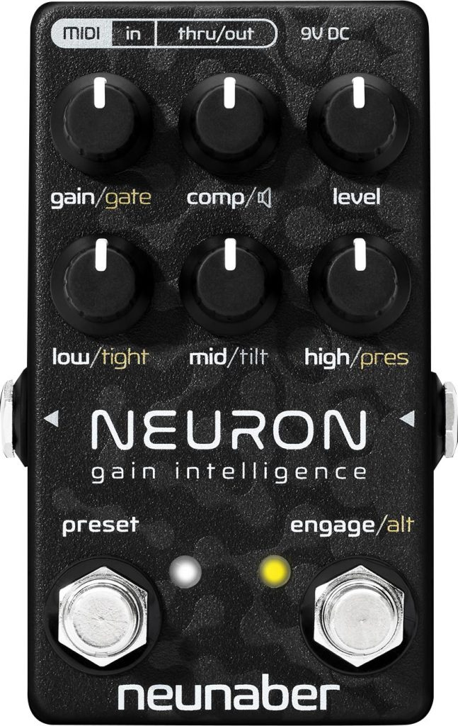 Neunaber Audio Neuron Guitar Preamp Pedal