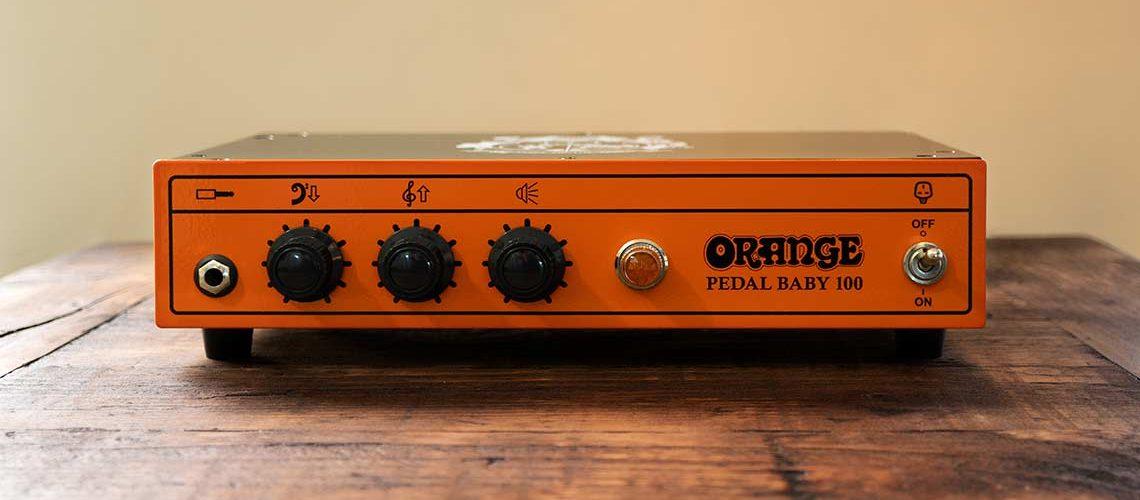 Orange Pedal Baby 100 A/B Power Amplifier