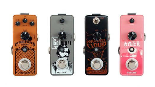 Outlaw Effects Launches Four New Pedals at NAMM 2019