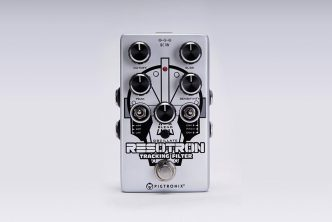 Pigtronix releases Resotron pitch-following envelope filter pedal