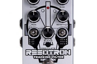 Pigtronix Resotron pitch-following envelope filter pedal