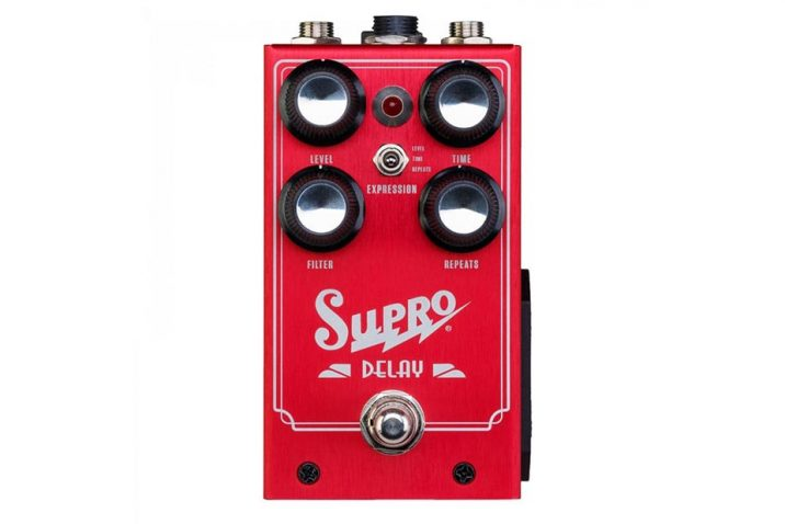 Supro launches analog Delay pedal loaded with MN3005 chips