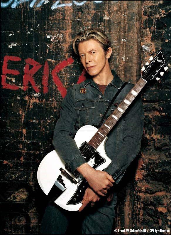 David Bowie 1961 Dual Tone electric guitar