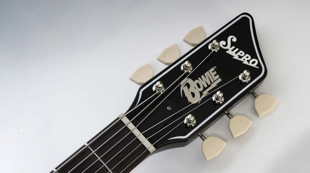 Supro David Bowie 1961 Dual Tone Guitar
