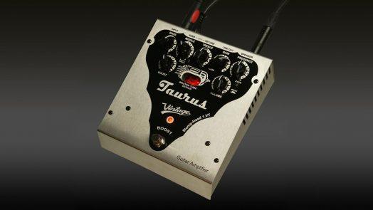 Taurus Stomp-Head 1.VT (Vintage) - New model of compact guitar amplifier