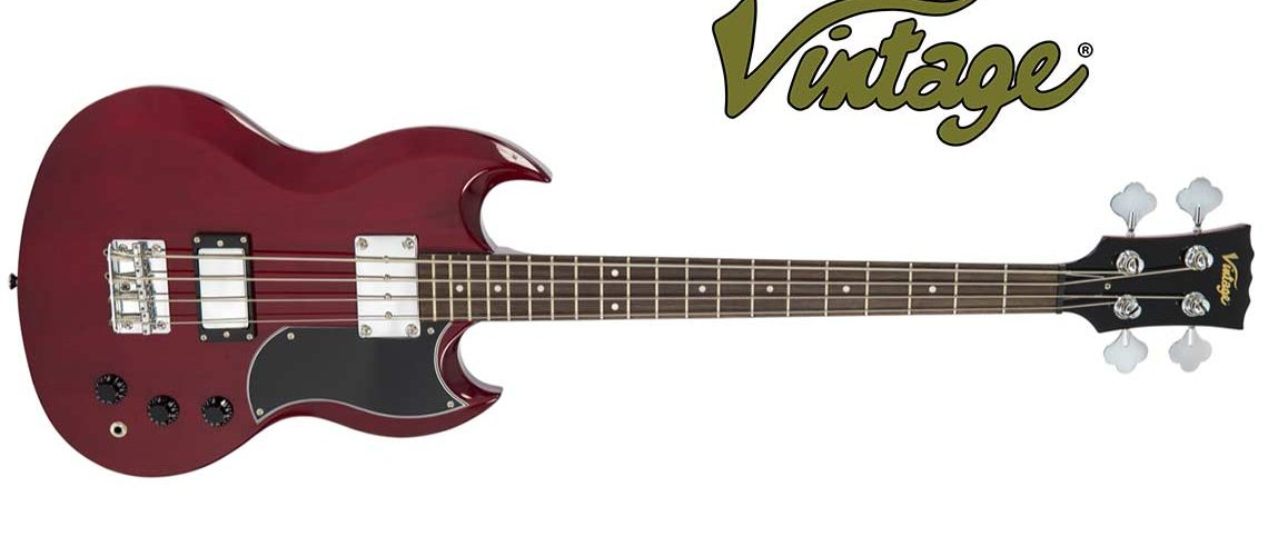 Vintage VS4CR Electric Bass