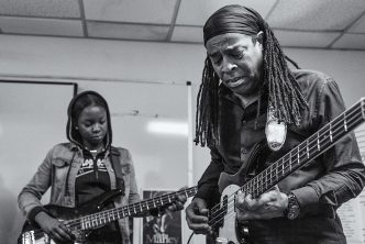 Living Colour's Doug Wimbish Pays It Forward with Peavey® Instrument Donation to Local School