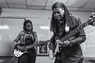 Living Colour's Doug Wimbish Pays It Forward with Peavey Instrument Donation to Local School