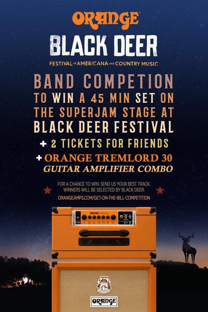 Black Deer Festival And Orange Amps Band Competition