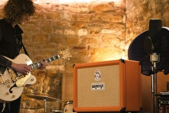 James Bagshaw (Temples) with his TremLord 30