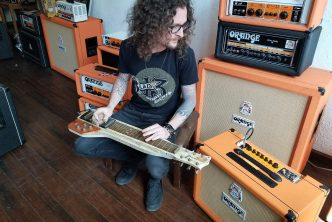 Kelby Ray (Cadillac Three) with his TremLord 30