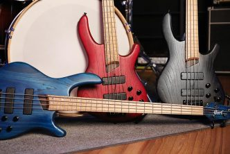 Cort Introduces B4 Plus AS RM Bass Guitar with Roasted Maple Fingerboard