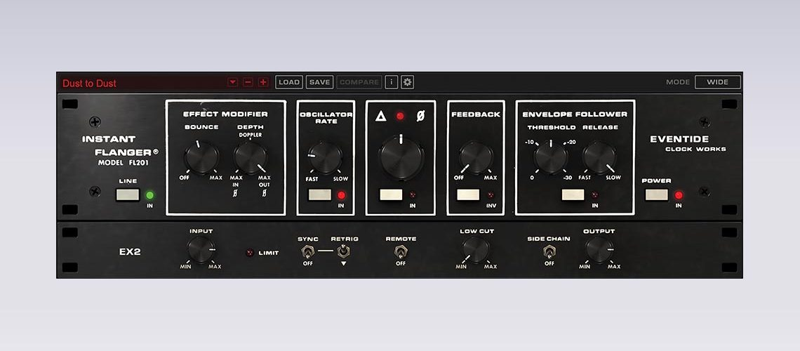 Eventide Releases Instant Flanger Mk II Software for Mac/PC