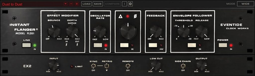 Eventide is proud to release theInstant Flanger Mk II