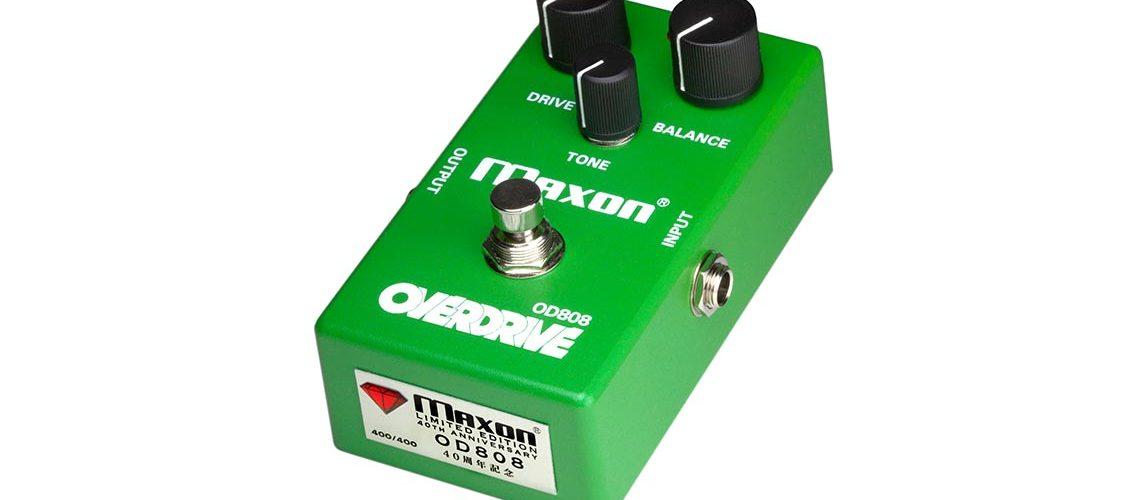Maxon 40th Anniversary OD808-40 Overdrive