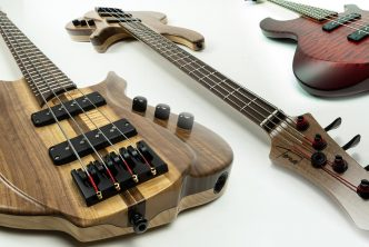 Torzal Guitars Expands Bass Line with Patented Natural Twist Design