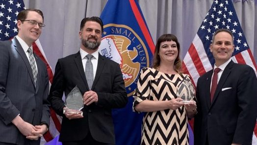 EarthQuaker Devices Recieves Exporter of the Year Honors During National Small Business Week in Washington D.C.