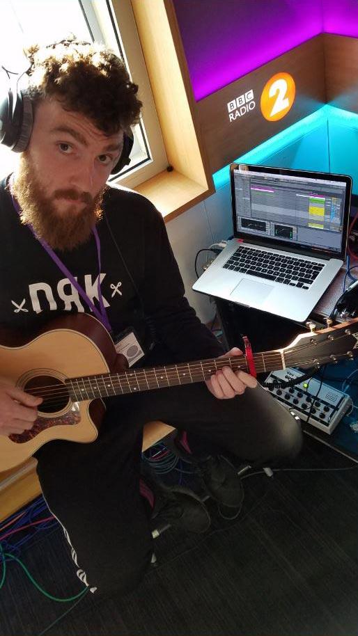 Clean Bandit's guitarist Jack Patterson