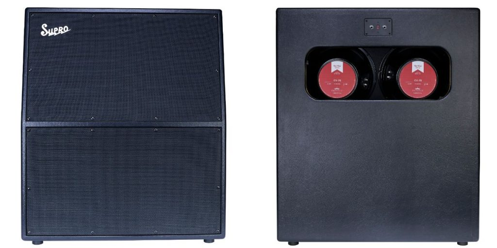 Supro 1777 Galaxy 4x12 Extension cabinet