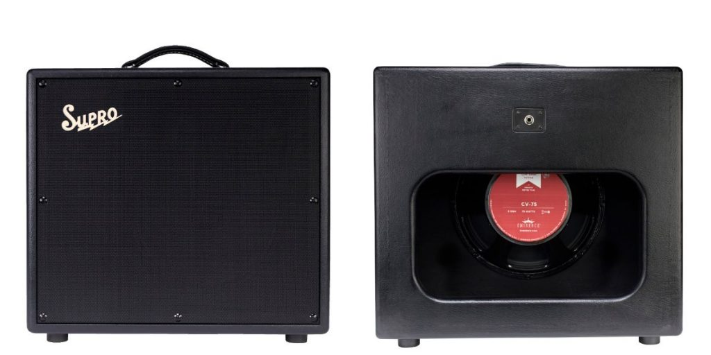 Supro 1797 1x12 Galaxy Extension cabinet