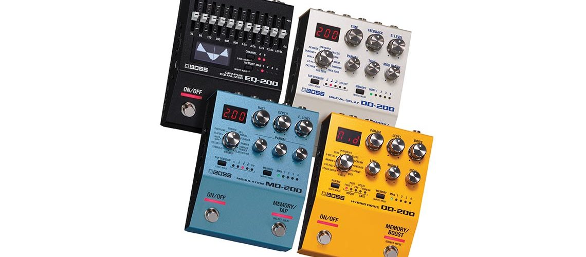 BOSS 200 Series Effect Pedals