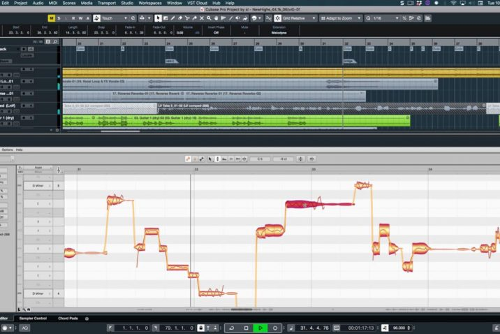 Cubase and Nuendo now with ARA2 support