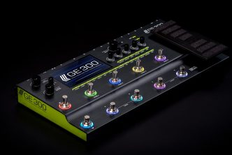 MOOER announces GE300 Multi-Effects Processor