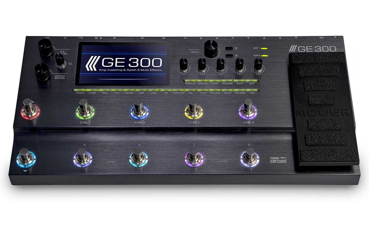MOOER announces GE300 Multi-Effects Processor