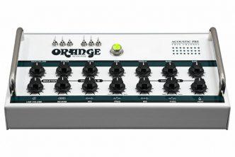 Stevie Wonder, Martin Taylor, Hans Zimmer's El Amir and Clean Bandit Discover Orange Amplifications Acoustic Pre Amp