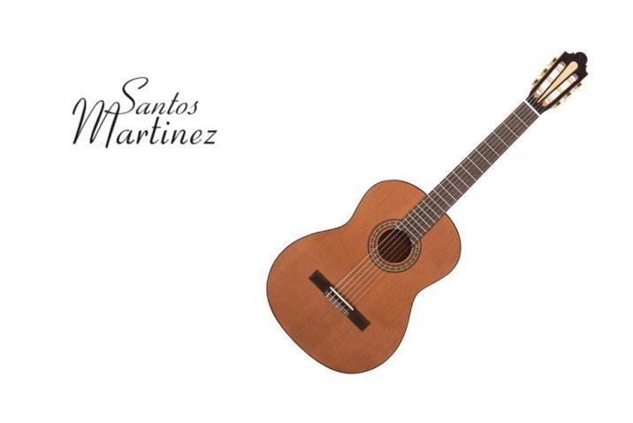 Santos Martinez nylon strung classical guitars
