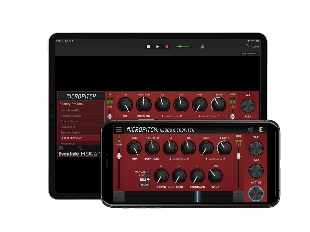 Eventide MicroPitch for iOS
