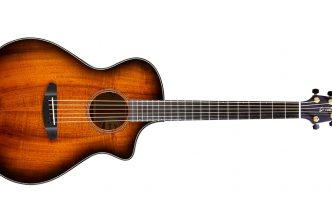 Breedlove Guitars Unveils New All Myrtlewood Oregon Series Bourbon Burst Acoustic Electric Models