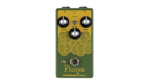 EarthQuaker Devices Plumes Overdrive Pedal