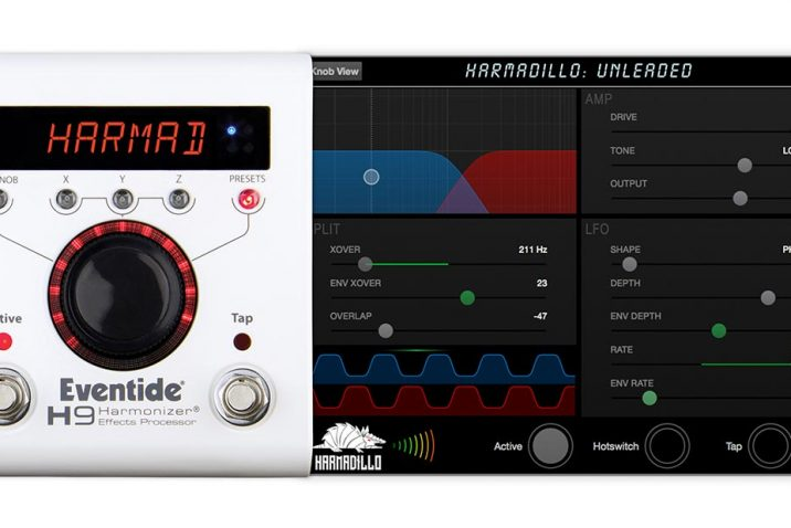 "Eventide Audio Introduces ""Harmadillo"" for the H9 Harmonizer® Pedal"