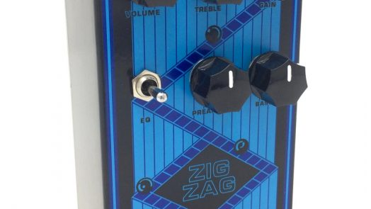 Magnetic Effects Zig Zag Effects Pedal For Guitar