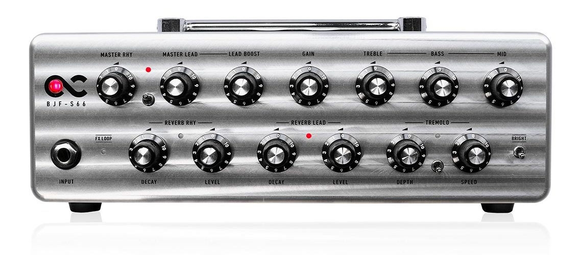 One Control Introduces BJF-S66 Compact Amp Head