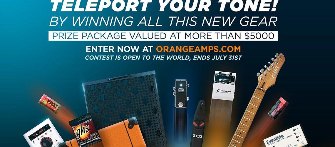 Orange Teleport your tone competition
